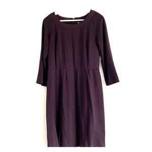 Stretch plum Banana Republic dress